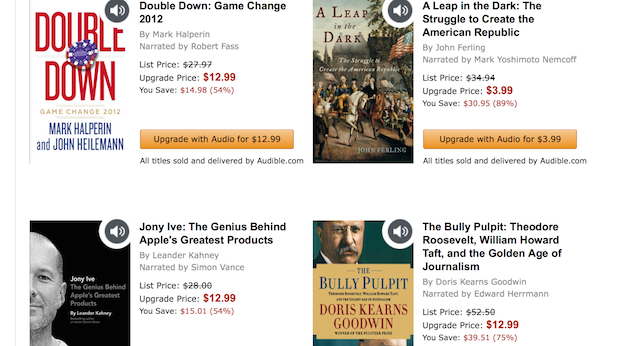 How to Use the New Kindle App for iOS and Android to Listen to Audio