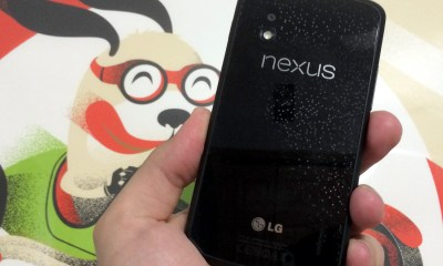 The Nexus 4 runs Android 4.4.4 KitKat smoothly, even though the phone is over a year old.
