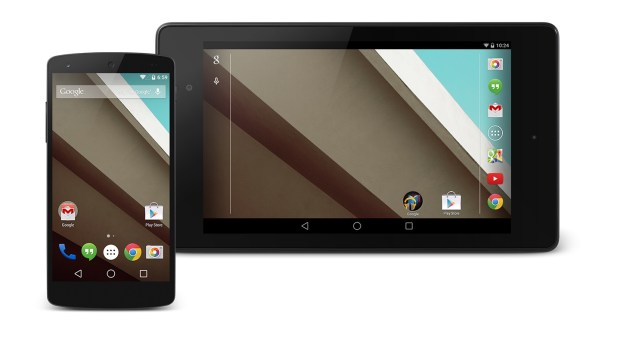 This guide shows how to install the Android L Beta using Android L Factory images.