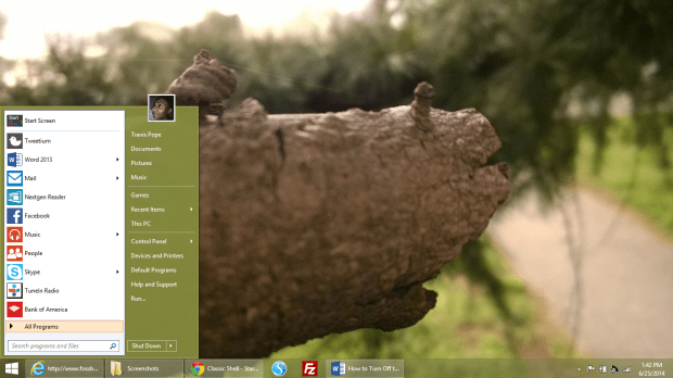 Turn Off the Start Screen & Get the Start Menu Back in Windows 8 (15)