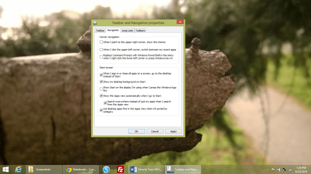 Turn Off the Start Screen & Get the Start Menu Back in Windows 8 (6)