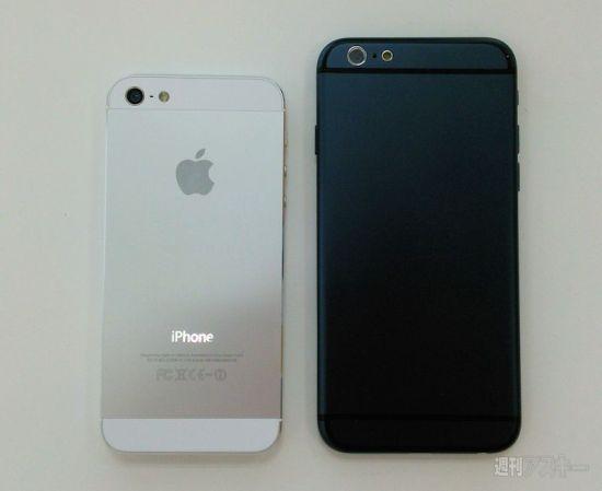 iPhone 6 vs. iPhone 5s.