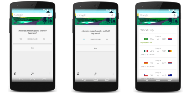 Notice the time in the top corner of the Nexus 5.