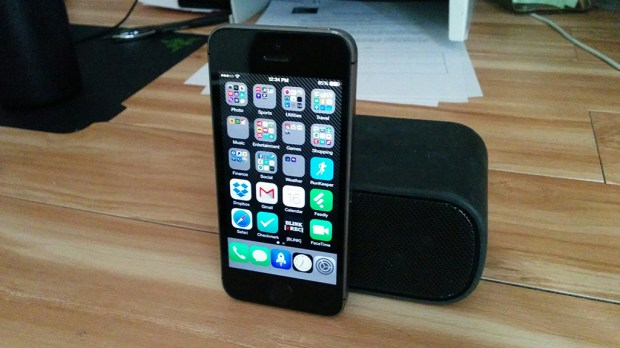 iPhone and Bluetooth speakers