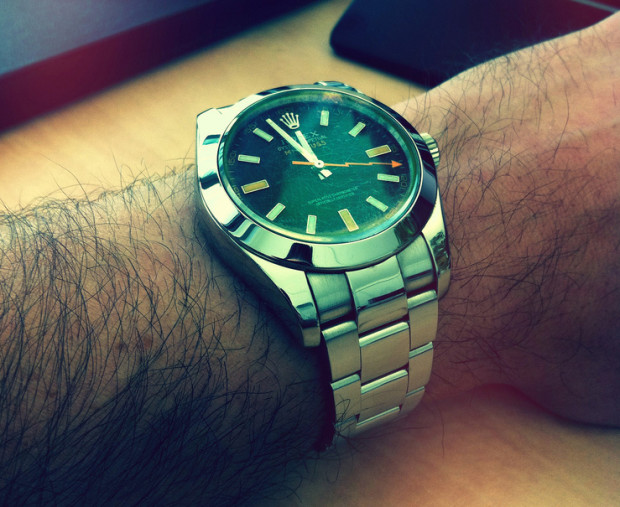 Rolex watches have sapphire glass