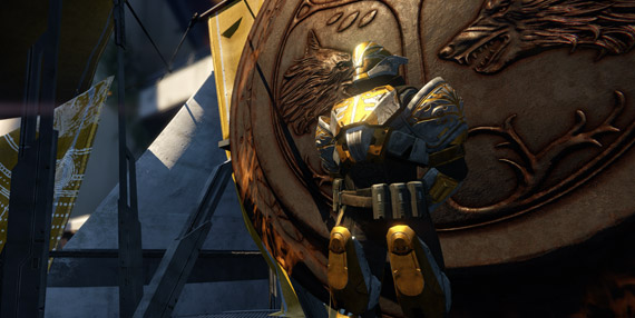 Talk to this powerful character to join in on the Destiny beta Iron Banner after you hit level 5.