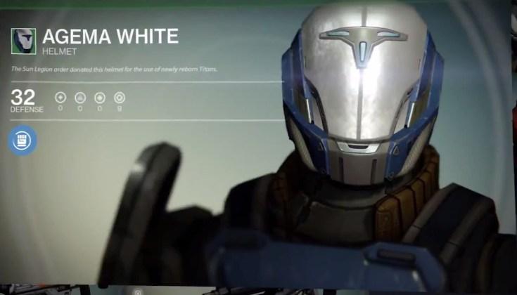 Destiny preorder Bonus Gear - 1