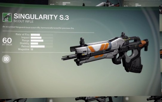 Destiny preorder Bonus Weapons - 1