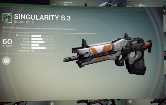 Destiny preorder Bonus Weapons - 1