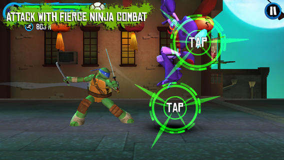 Free iPhone Games - Teenage Mutant Ninja Turtles