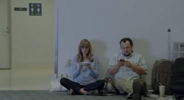 Galaxy S5 Ad Wall Huggers - iPhone battery life - 4