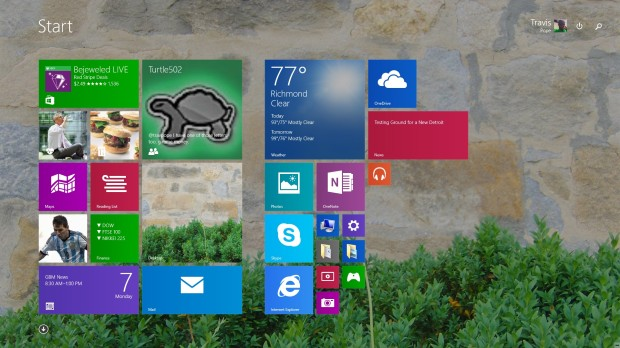 how to make middot in windows 8