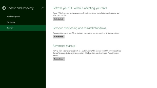 How to Reset Your Windows 8.1 Laptop, Desktop, Tablet or 2-in 1 (6)