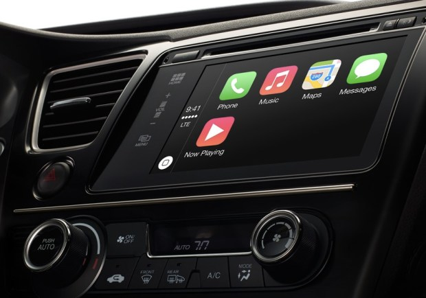 Apple's CarPlay brings the iPhone experience to the dashboard.