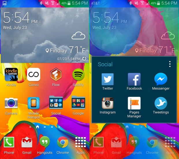 These are the Galaxy S5 apps I use most.