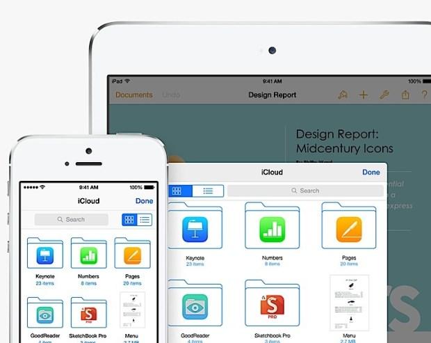 iCloud is easier to use in iOS 8.
