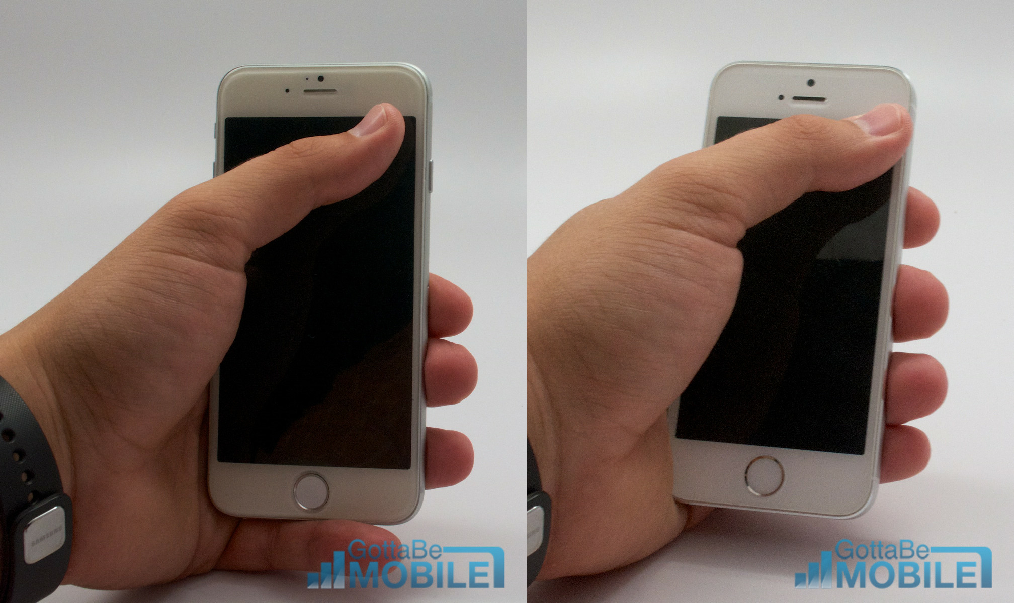 how big is the iphone 5s screen iphone 5s vs iphone 6 5592