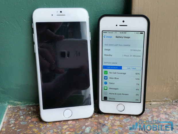 Apple includes better battery management details in iOS 8, which will launch with the iPhone 6.