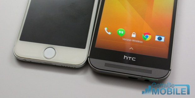 Touch ID is one feature Apple offers that HTC does not include.
