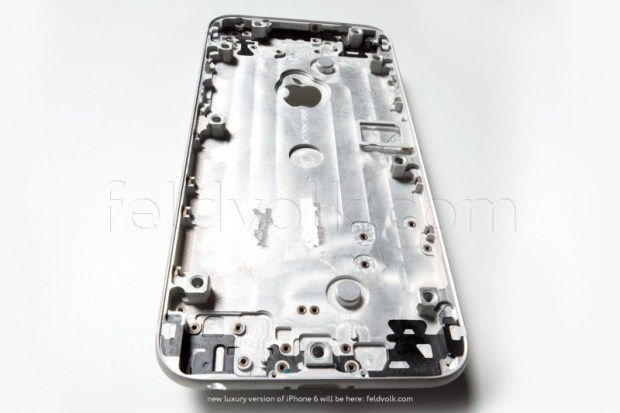 A plausible iPhone 6 part leak.