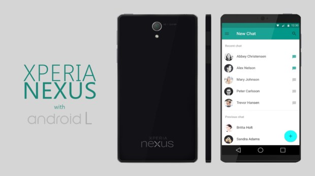 This new Nexus 6 concept features Android L.
