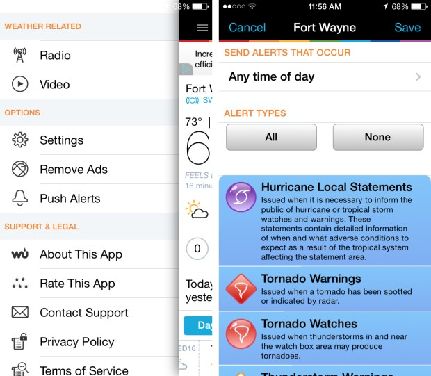 How to Get Severe Weather Alerts on Your iPhone