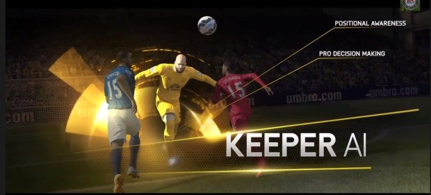 The smarter keepers in FIFA 15 will use decision making more like real pros.