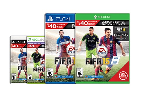 The FIFA release includes two versions that you can buy on Amazon.