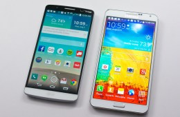 LG G3 vs Galaxy Note 3 - 1