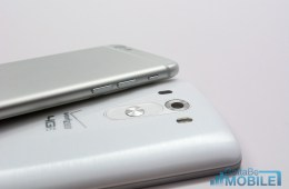 LG G3 vs iPhone 6 - Buttons