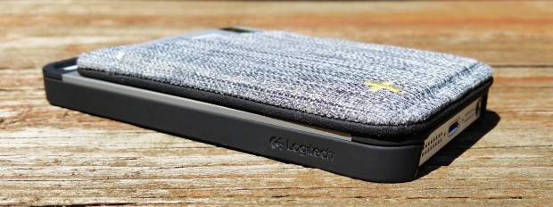 The Logitech Case+ wallet is awesome.