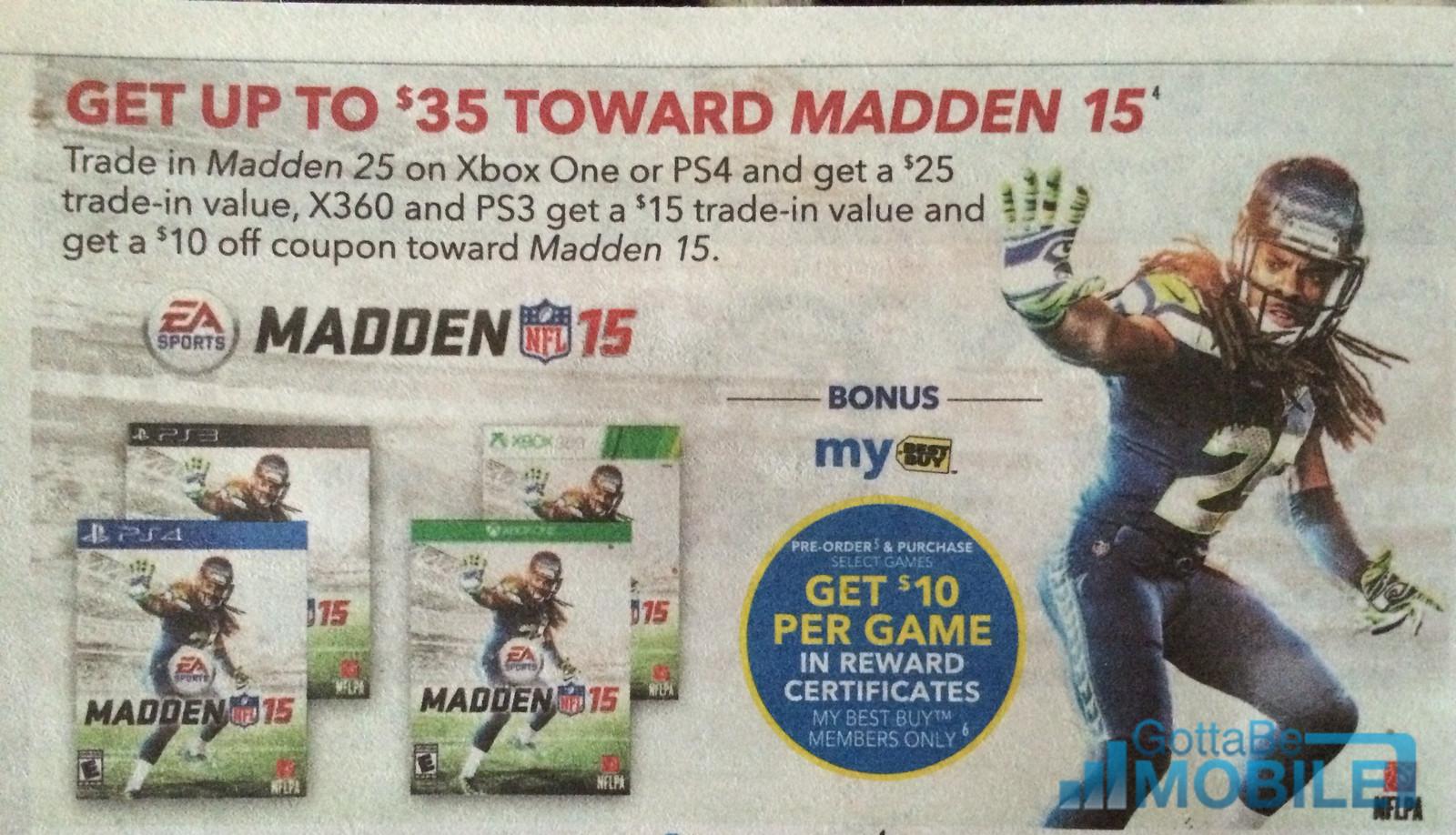 Madden 25 deals ps4