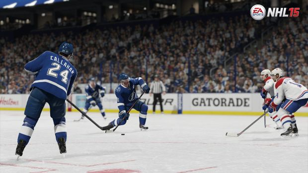 Players are smarter in NHL 15, and should open up passing and shooting lanes like never before.
