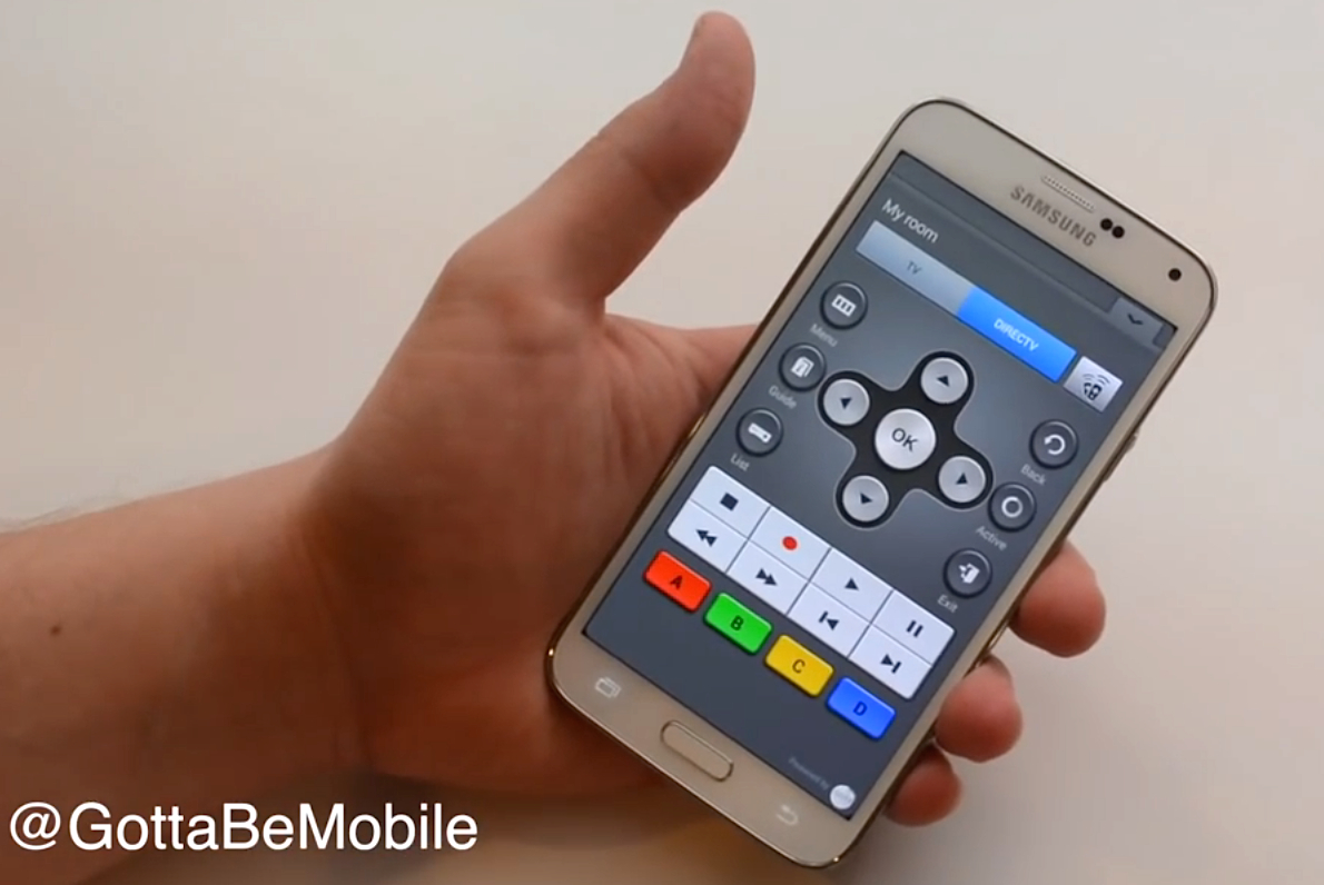 How to Use the Galaxy S5 as a Remote Control