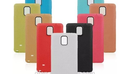 These Samsung Galaxy Note 4 cases are for sale, but don't buy into everything they are selling.