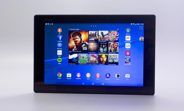 The Sony Xperia Z2 Tablet looks great.
