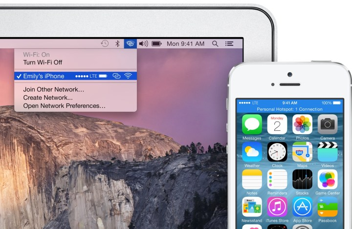 iOS 8 vs iOS 7 Personal Hotspot