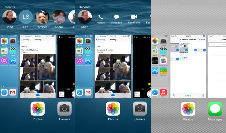 iOS 8 vs iOS 7 Multitasking