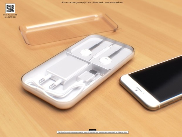 We could see a surprise in the box when the iPhone 6 release arrives. (Concept by Martin Hajek)