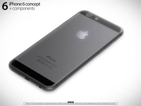iPhone 6 renders