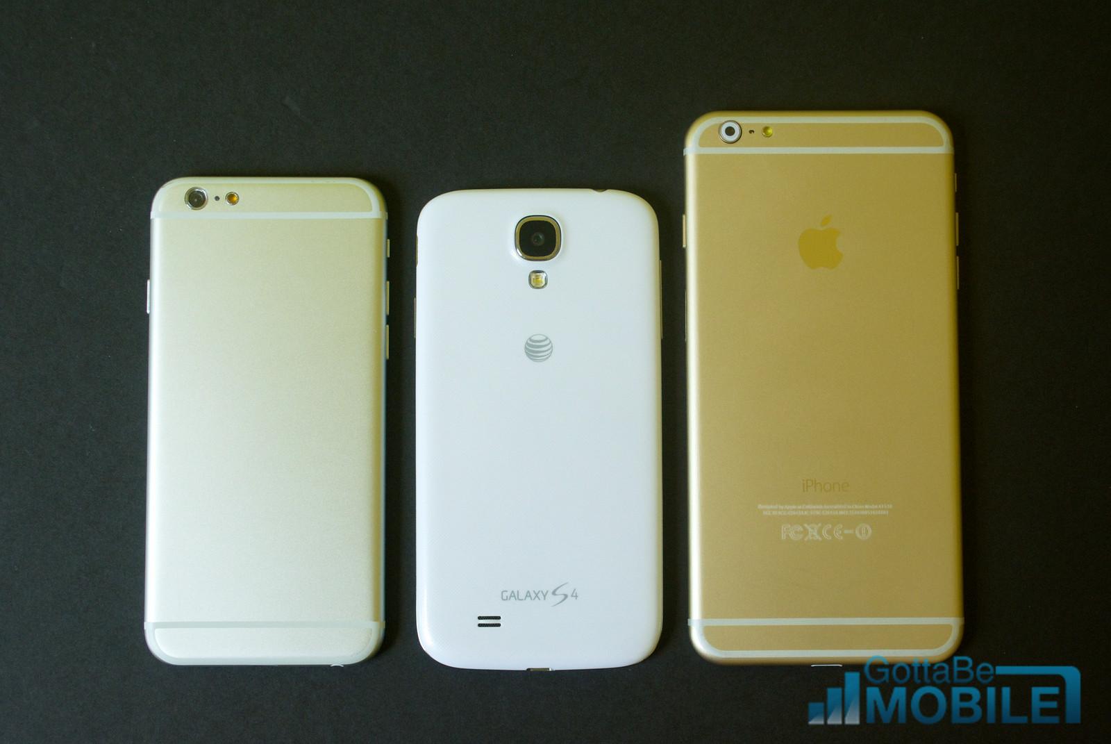 Iphone 4 Vs Iphone 6 Size Comparison