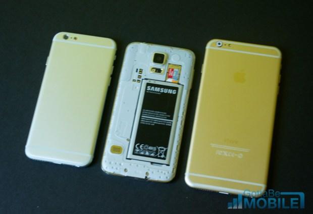 iPhone 6 vs Galaxy S5 - Design