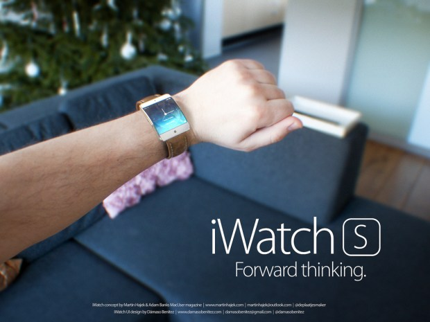 Here's a look at how the iWatch vs Moto 360 comparison stacks up. Concept by Martin Hajek.