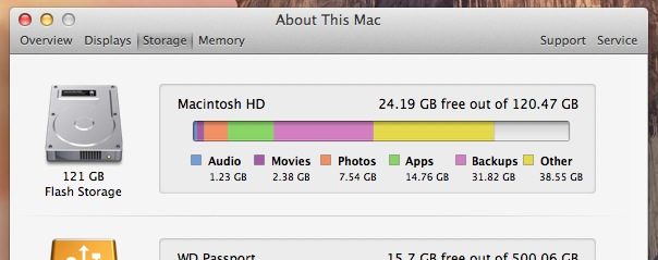 "Mac ""Other"" Storage"