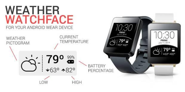 weather watchface