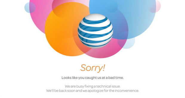 AT&T's website is causing iPhone 6 pre-order errors.