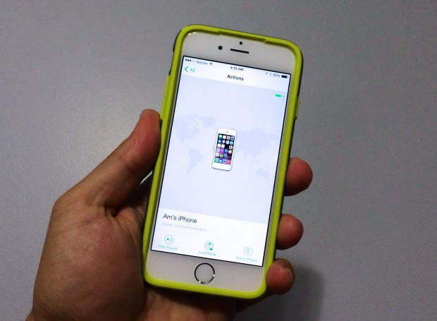 Find Lost iPhone Dead Battery 2