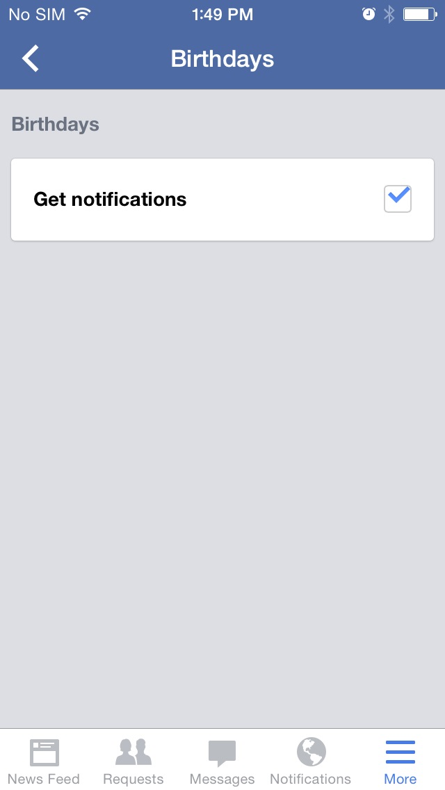 How to Turn Off Facebook Birthday Alerts on the iPhone