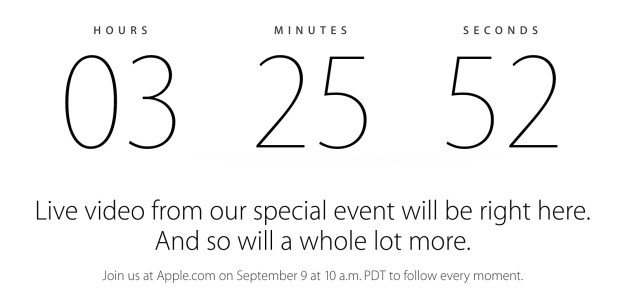 Watch the 2014 Apple event live stream on Windows.