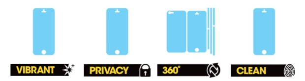 Here are some of the first iPhone 6 screen protectors.